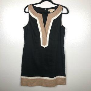 MICHAEL MICHAEL KORS linen mini dress sleeveless